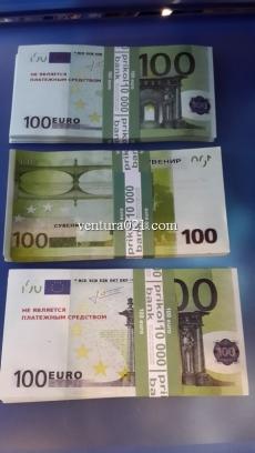 "Сувенирные деньги ""100Euro"""