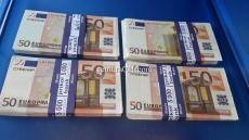 "Сувенирные деньги ""50Euro"""