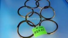 Силиконовый браслет цвета хаки 5мм