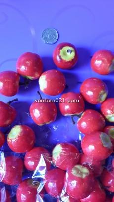 """Декоративная фрукта """"Яблоко красно-жёлтое"""""""