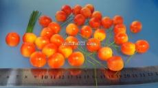 """Декоративные фрукты маленькие со шпажкой """"Апельсин"""""""