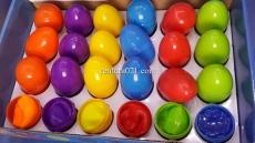 Умный пластилин в яйце