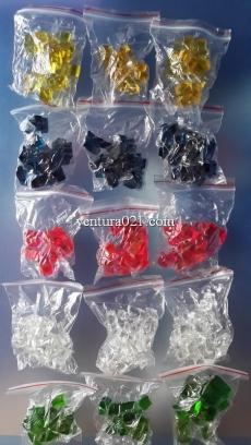 Растущие в воде кристаллы