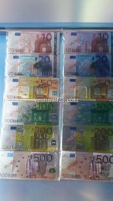 Магнит на холодильник в виде банкноты евро
