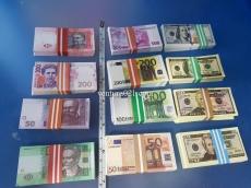 Сувенирные банкноты мини вариант