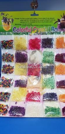 Гидрогель цветной декоративный