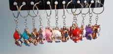 Брелок для ключей в виде фигурки Hello Kitty