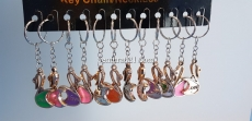 Брелок для ключей в виде лебедя