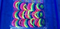 Набор цветных резинок для волос