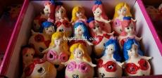 Мялка для рук анти стресс в виде  принцессы