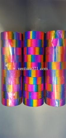Скотч декоративный цветной яркий