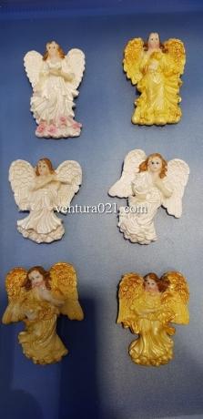 """Магнит на холодильник из керамики """"Ангел"""""""